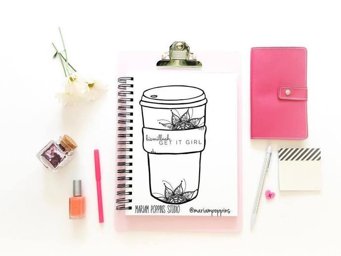 Bismillaah - Get It Girl Coffee Cup