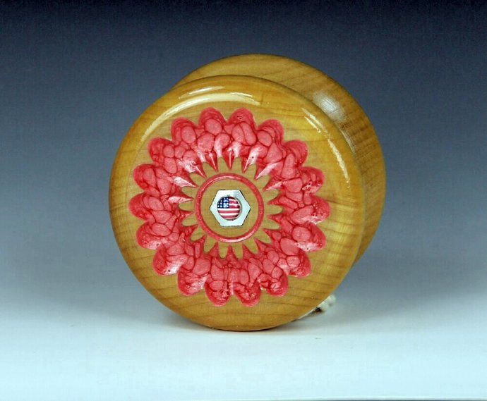 Tom Kuhn 3-n-1 No-Jive YoYo: One-Of-A Kind, Customized by YoYoSpin with a USA