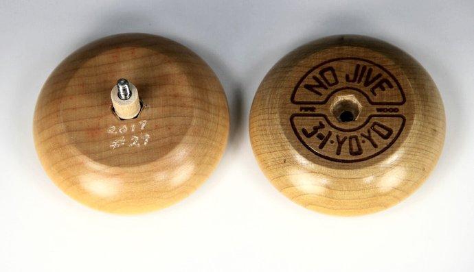 Tom Kuhn Mandala Sunburst-Nova YoYo: Serial Number 29 of 50, Customized by