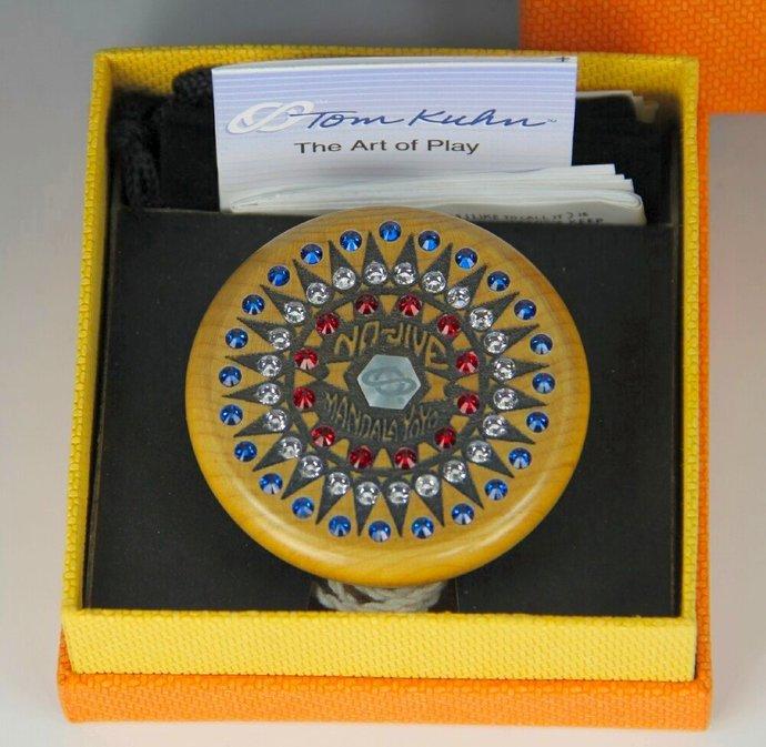 Tom Kuhn Mandala Sunburst-Nova YoYo: Serial Number 26 of 50, Customized by