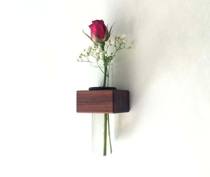Magnetic Fridge Vase, Test Tube Vase