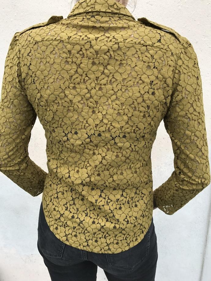 SHIRT lace/LADIESshirt/DESIGN/lace/FALL/fashion women/ladies fashion/danish