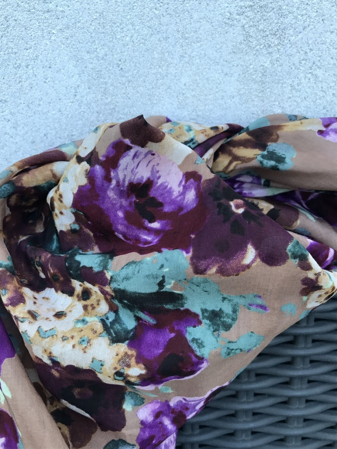 SCARVES/FLOWERS/DESIGNER/special/summer/ladies/women/Piiamay/design