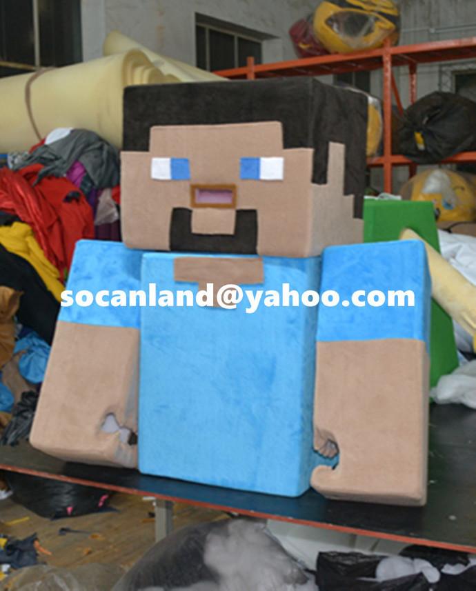 handmade kids minecraft mascotkids minecraft costumekids minecraft halloween