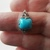 4ct Turquoise ring, Size 8, Keepsake Gift, 925 silver, High End Ring, Holiday
