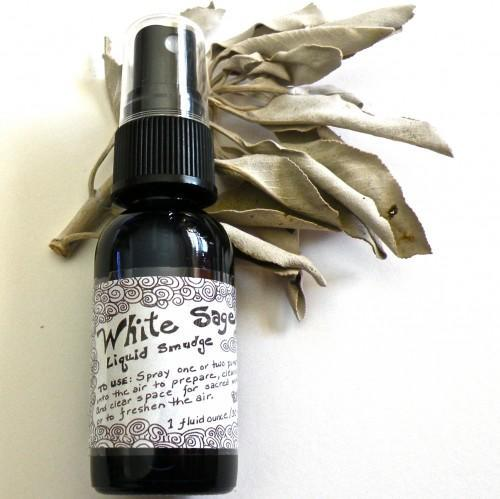 Handmade Liquid Smudge - White Sage