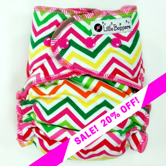 CLEARANCE SALE! Citrus Chevron
