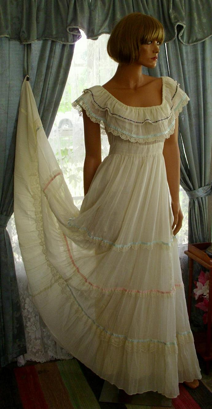 Gunne Sax Summer Dress by Contempo Fashions