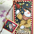 Seasons Greetings snowman bookmark