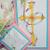 Cross & dove bookmark