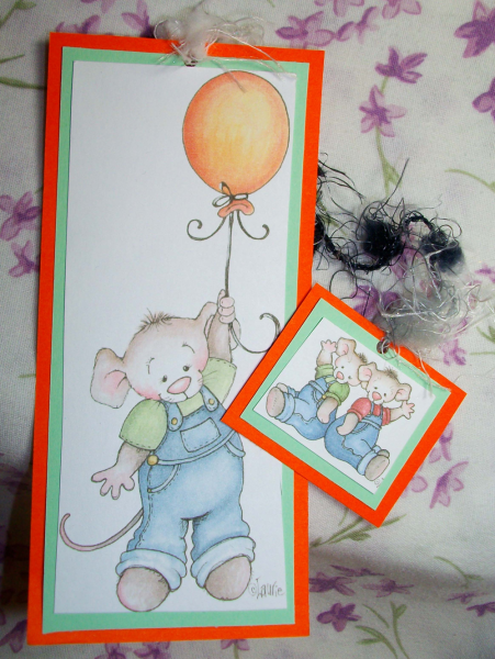 Carry me away Mouse bookmark