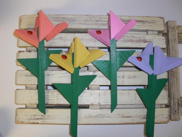 Flower Stakes - Small by ABCbirdhouses