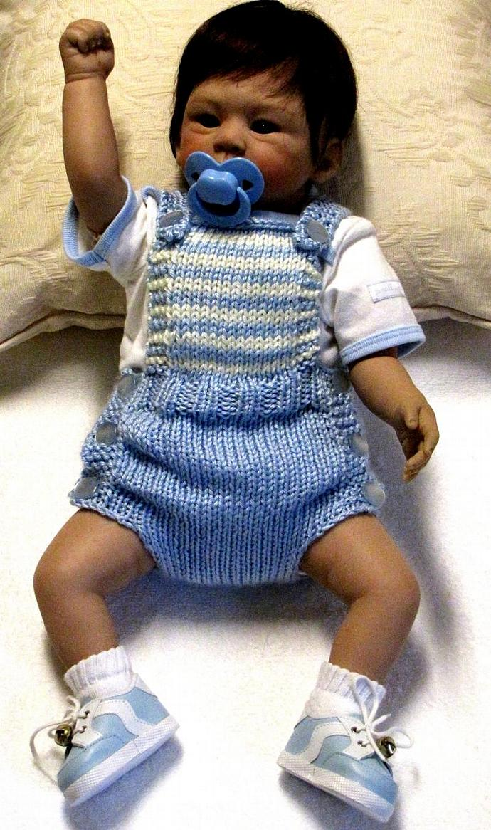 Baby Sunsuit Knitting Pattern