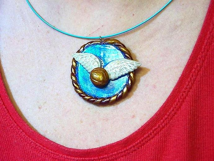 the Golden Snitch pendant for Harry Potter fans