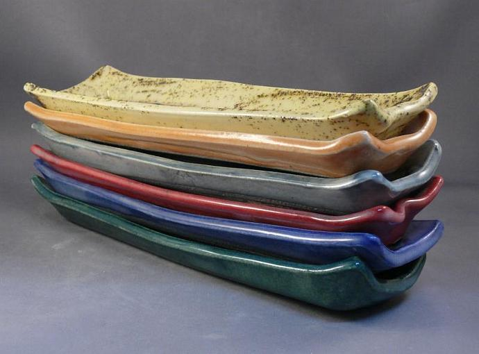 Narrow Serving Tray in aspen design