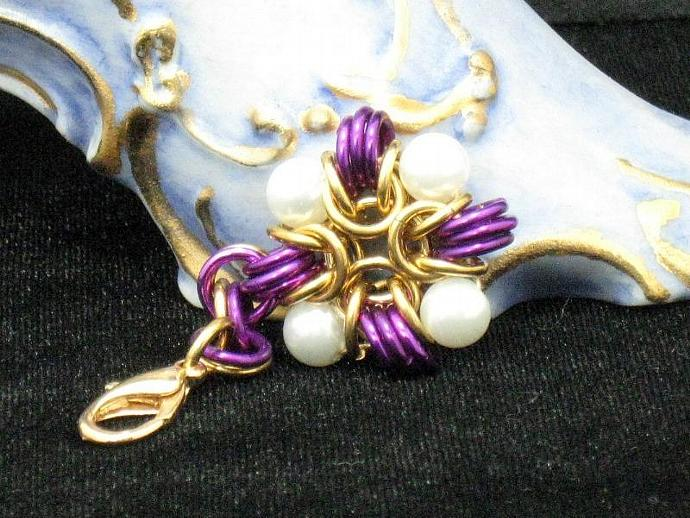 Elise Chainmaille Charm