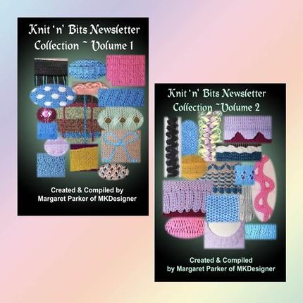 Knit n Bits Machine Knit Vol-1&2 Techniques