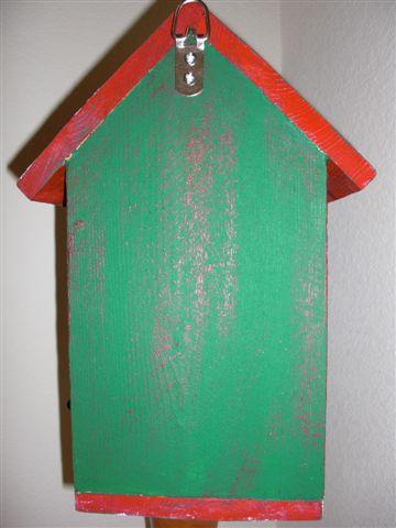 Birdhouse - Snowflakes