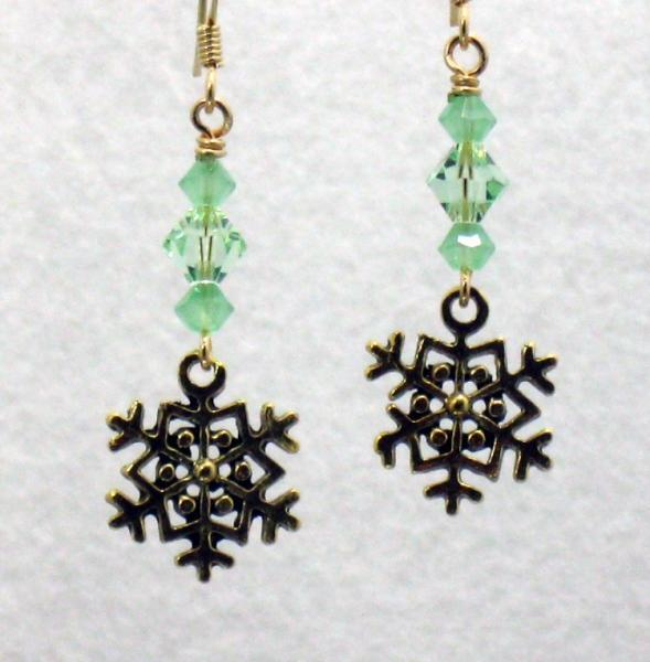 Snow in the Pines Earrings