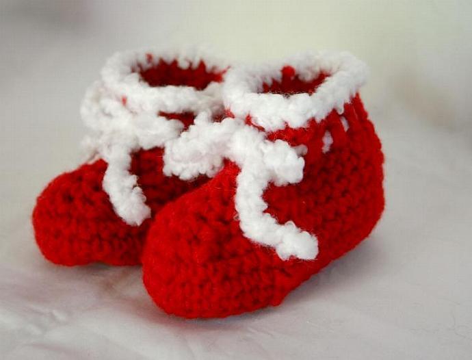 Girl Christmas dress PDF crochet pattern 0-6 month size baby newbowrn infant