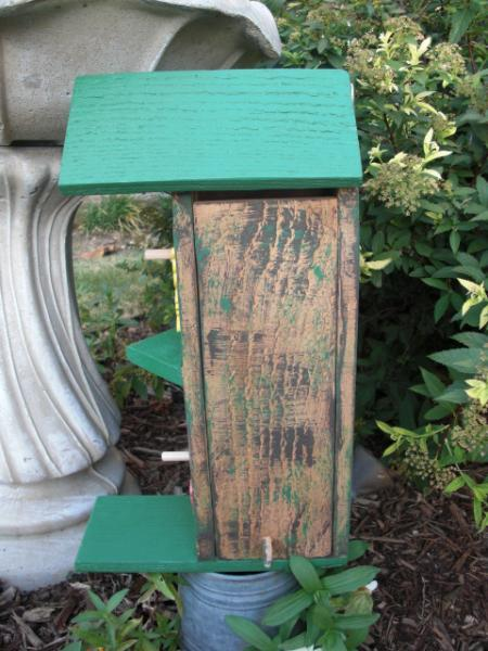 Birdhouse - Two Story Butterflies by ABCbirdhouses
