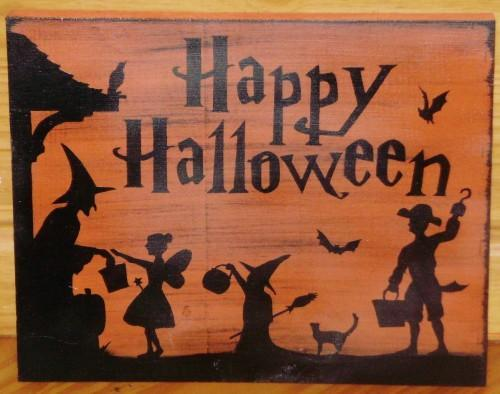 Primitive witch signs Halloween decorations Signs Primitives Witches Plaque