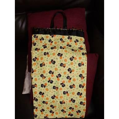 Kitten Pumpkin Treat Tick Bag
