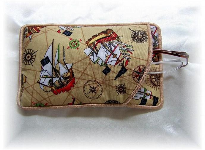 Ahoy Mates Nautical Eye Glass Holder