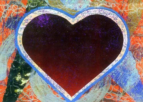 ACEO Gift Card with envelope - Bold Heart