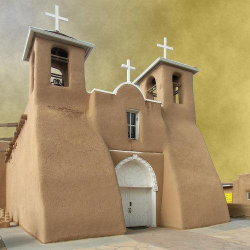 Church in Taos, New Mexico