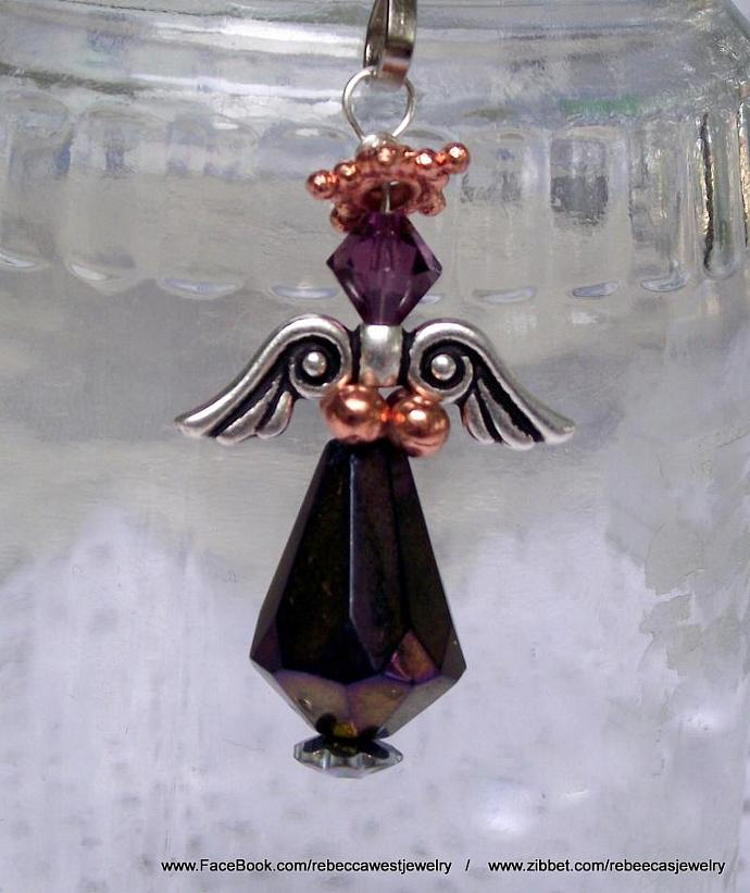 Angel  Zipperpull / Charm / Pendant