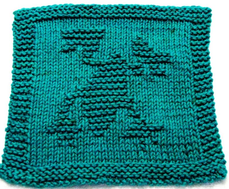 Knitted Tablecloth Patterns : Knitting Cloth Pattern - FROG - PDF ezcareknits