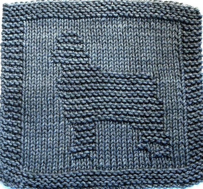 Knitting Cloth Pattern - SHEEP DOG - PDF