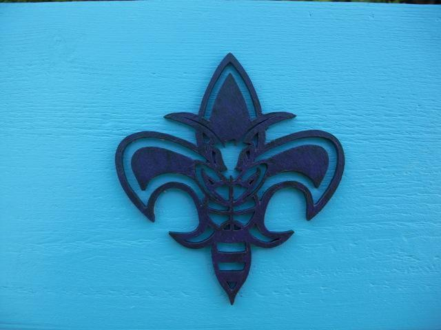 Birdhouse - New Orleans Hornets by ABCbirdhouses