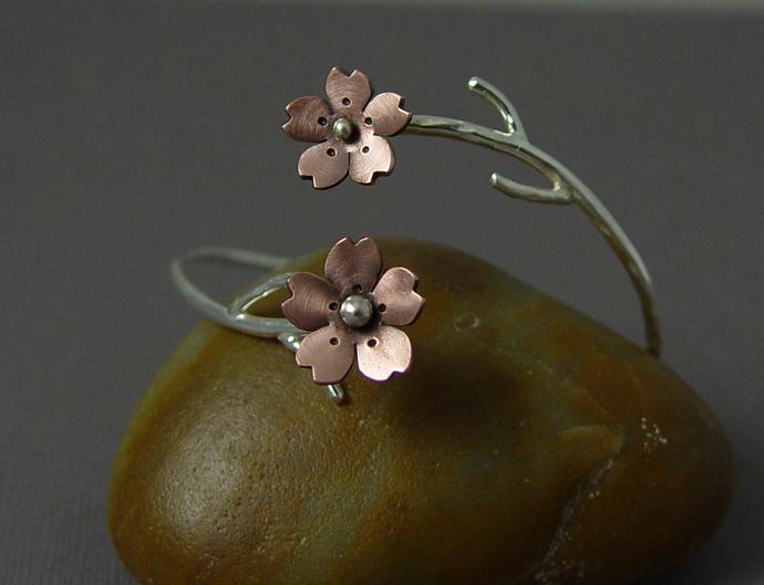 Cherry Blossom Branch Cuff