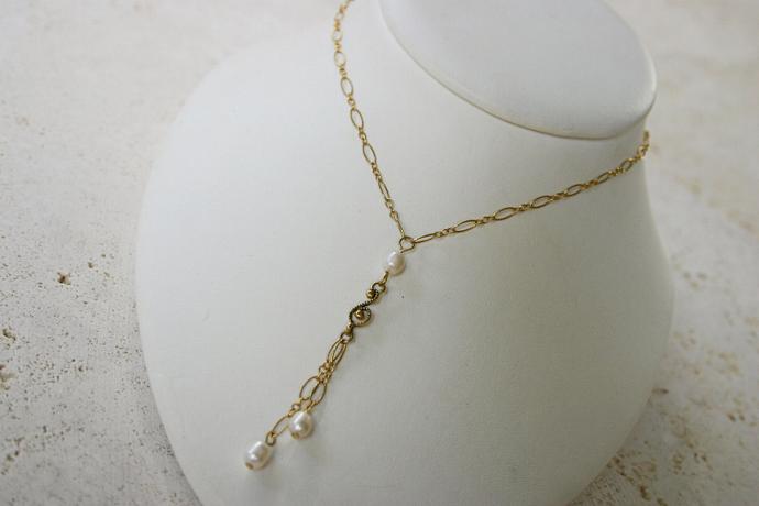 Forever, handmade Bridal necklace