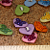 Heart Buttons with Butterflies B10-001