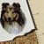 Sable Collie Ceramic Waterslide Decal D10-52