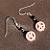 Pink Peace Earrings 9062