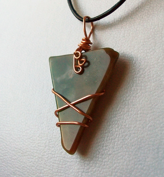My Agate Has Three Corners Necklace