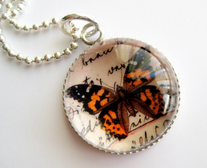 Butterfly - A Little Bubble Pendant