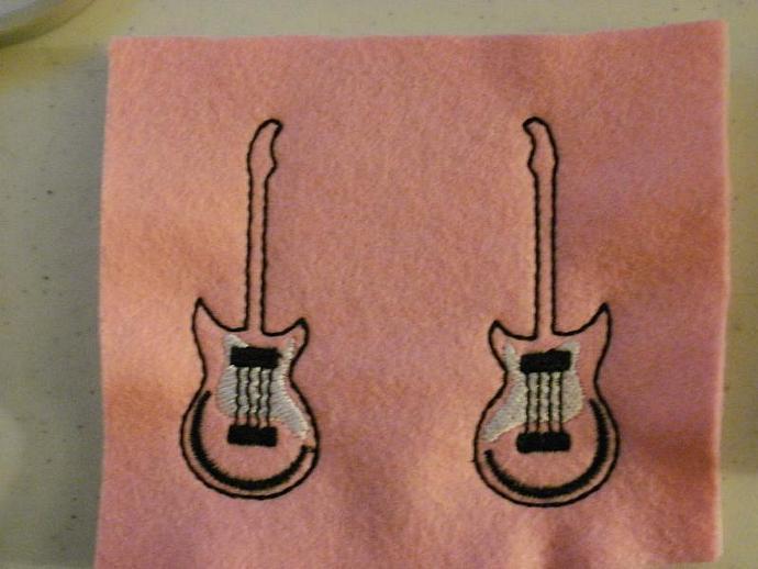 Guitar Felties