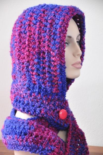 Scoodie - Crochet Hood, Scarf - the ultimate solution