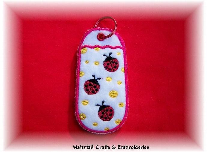 Lady Bugs Lip Balm, USB Chapstick Holders