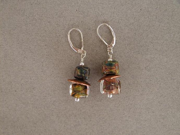 Multi Color Boro Earrings