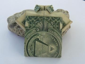 Origami Dollar Shirt