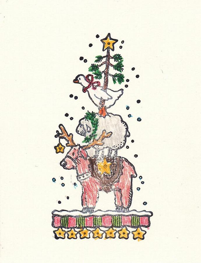 Symbols of Christmas Joy