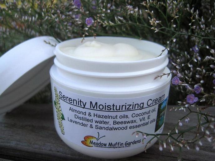 Sandalwood and Lavender Facial Moisturizing Cream