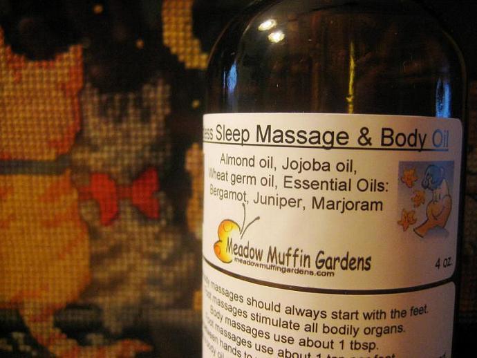 Sleep Aid Massage and Body Oil
