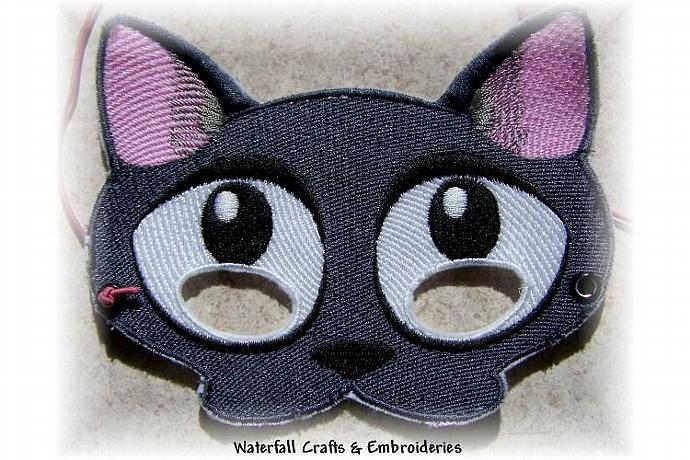 Kitty Cat Halloween Dressup Mask
